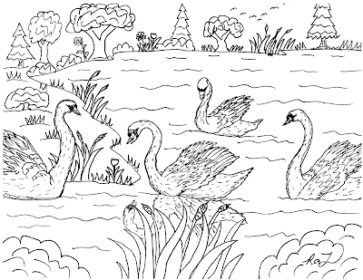colouring pages for the ugly duckling the ugly duckling coloring page 04 fairy tale the pages for duckling colouring ugly