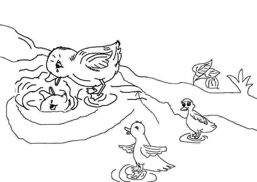 colouring pages for the ugly duckling the ugly duckling coloring pages coloring home colouring for duckling the pages ugly