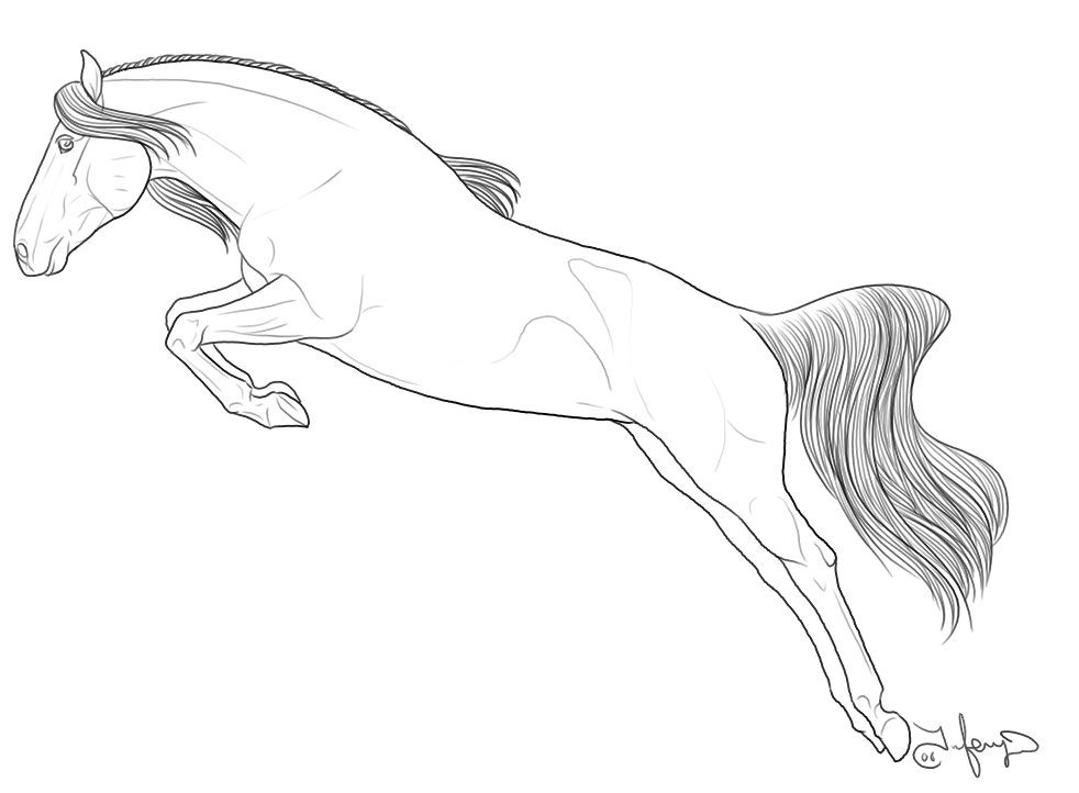 colouring pages horses 4 jumping horse printable coloring sheet for kids horses colouring pages