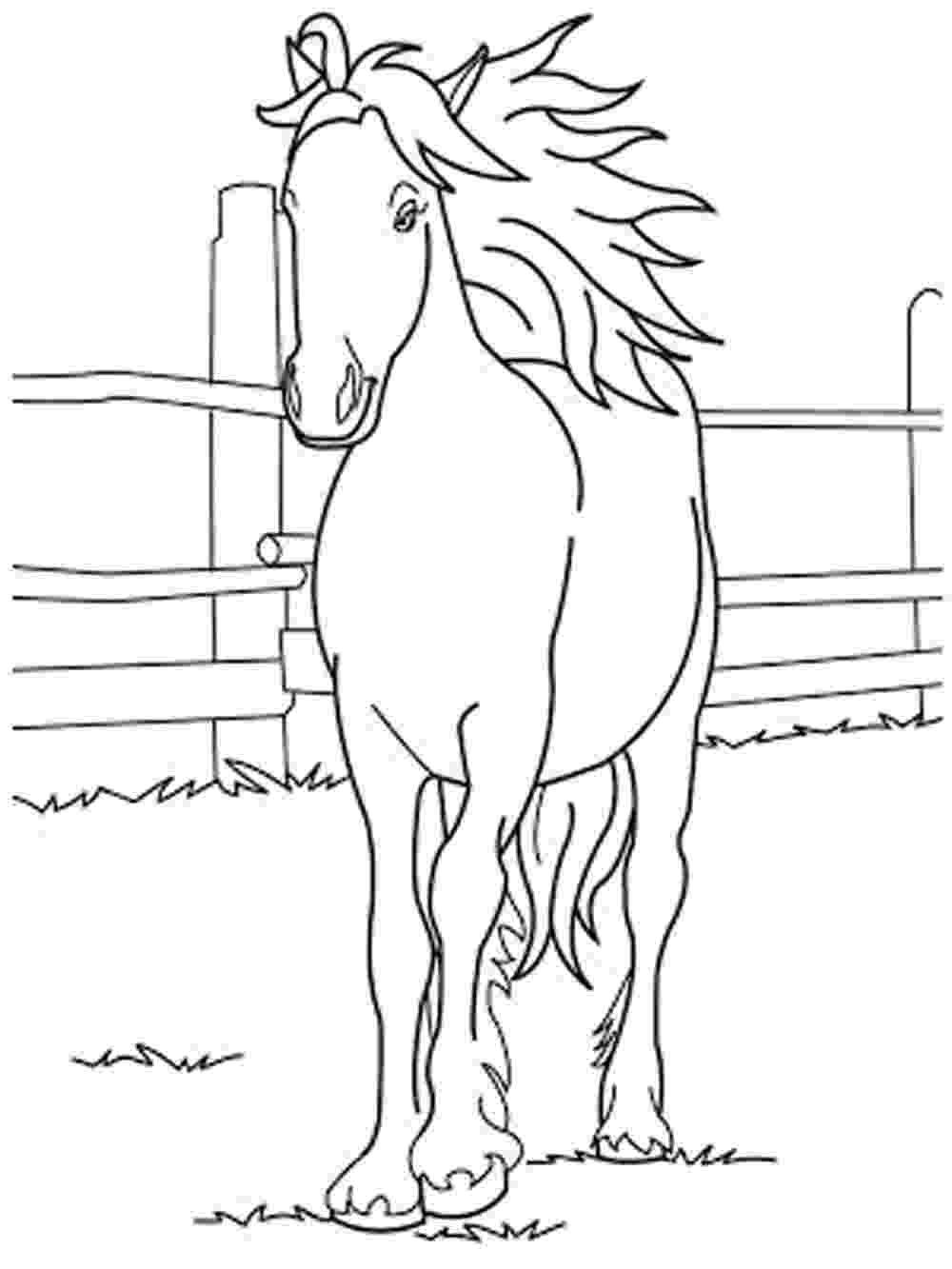 colouring pages horses horse to print and color pages 2 color horse coloring pages horses colouring