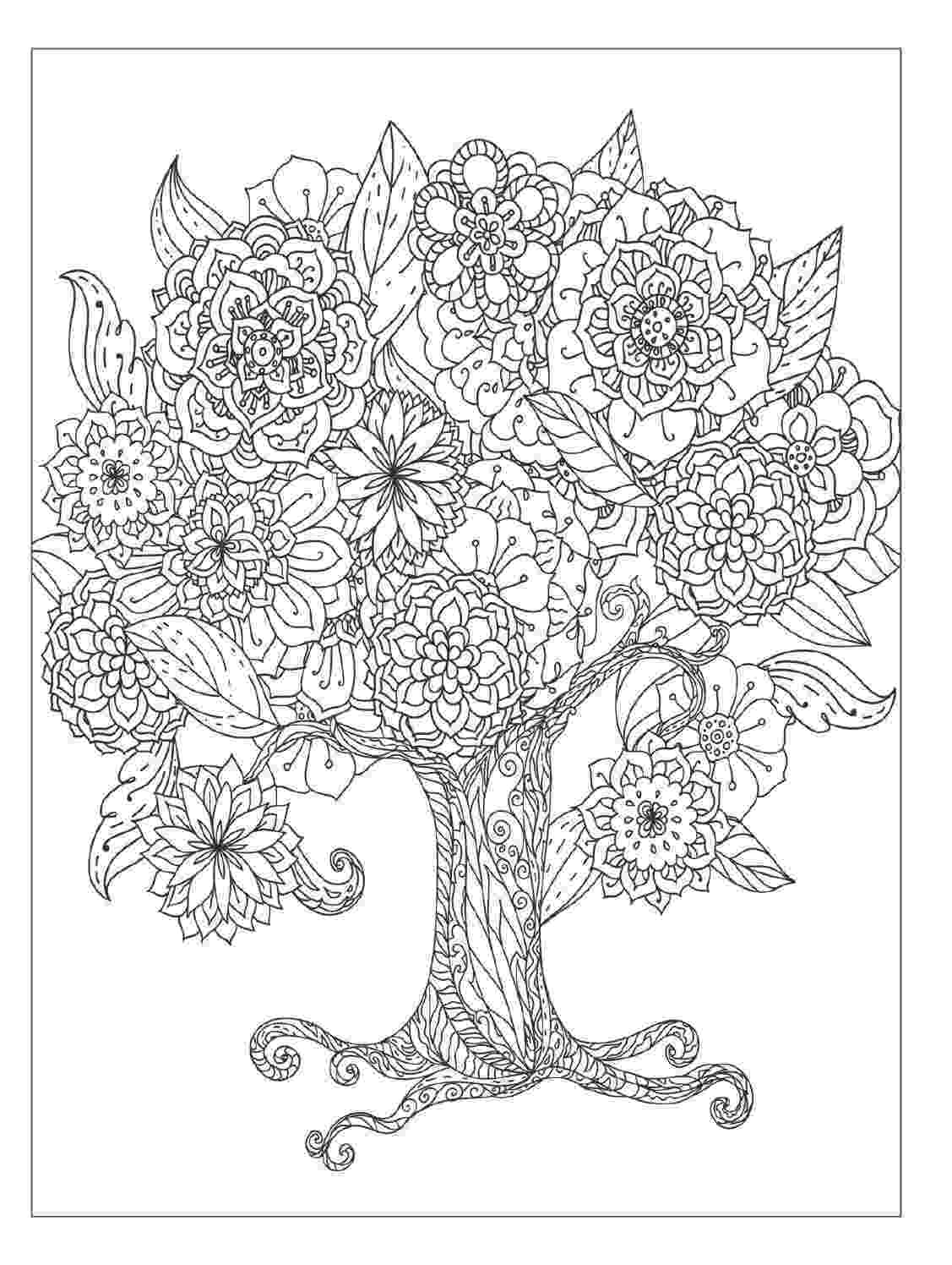 colouring pages of beautiful flowers a basket of flowers full of beautiful flowers coloring pages colouring flowers beautiful of