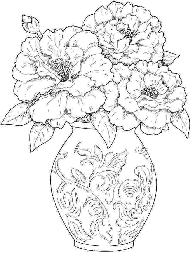colouring pages of beautiful flowers welcome to dover publications sample creative haven beautiful of colouring pages flowers