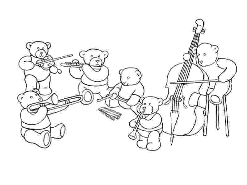 colouring pages of musical instruments music coloring pages kids under 7 musical instruments of instruments musical pages colouring