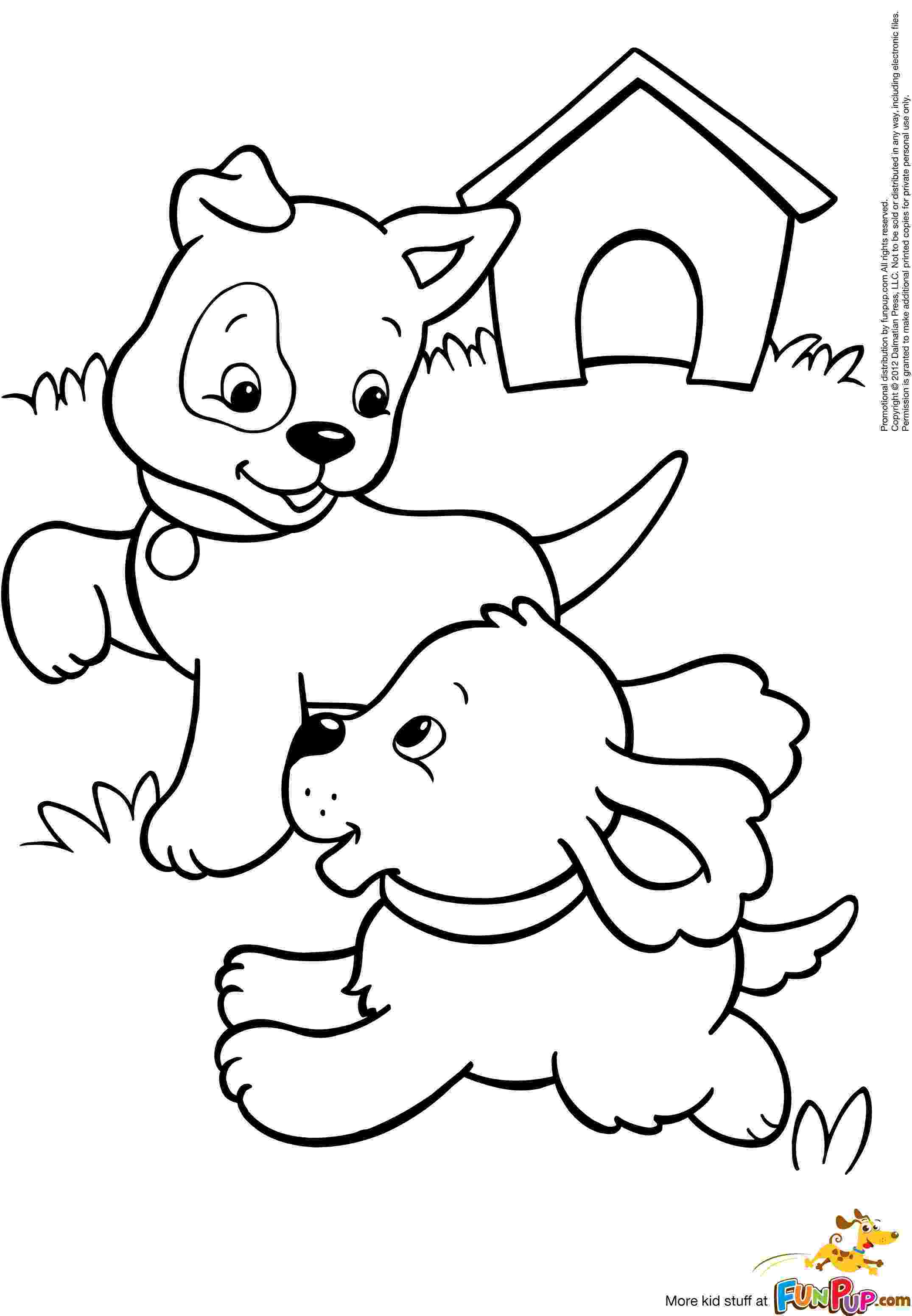 colouring pages puppies cute puppy coloring pages for kids free printable colouring puppies pages