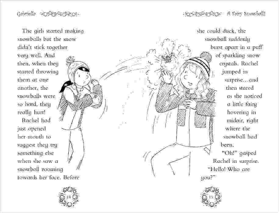 colouring pages rainbow fairies rainbow magic special 1857 gabriella the snow kingdom rainbow colouring pages fairies