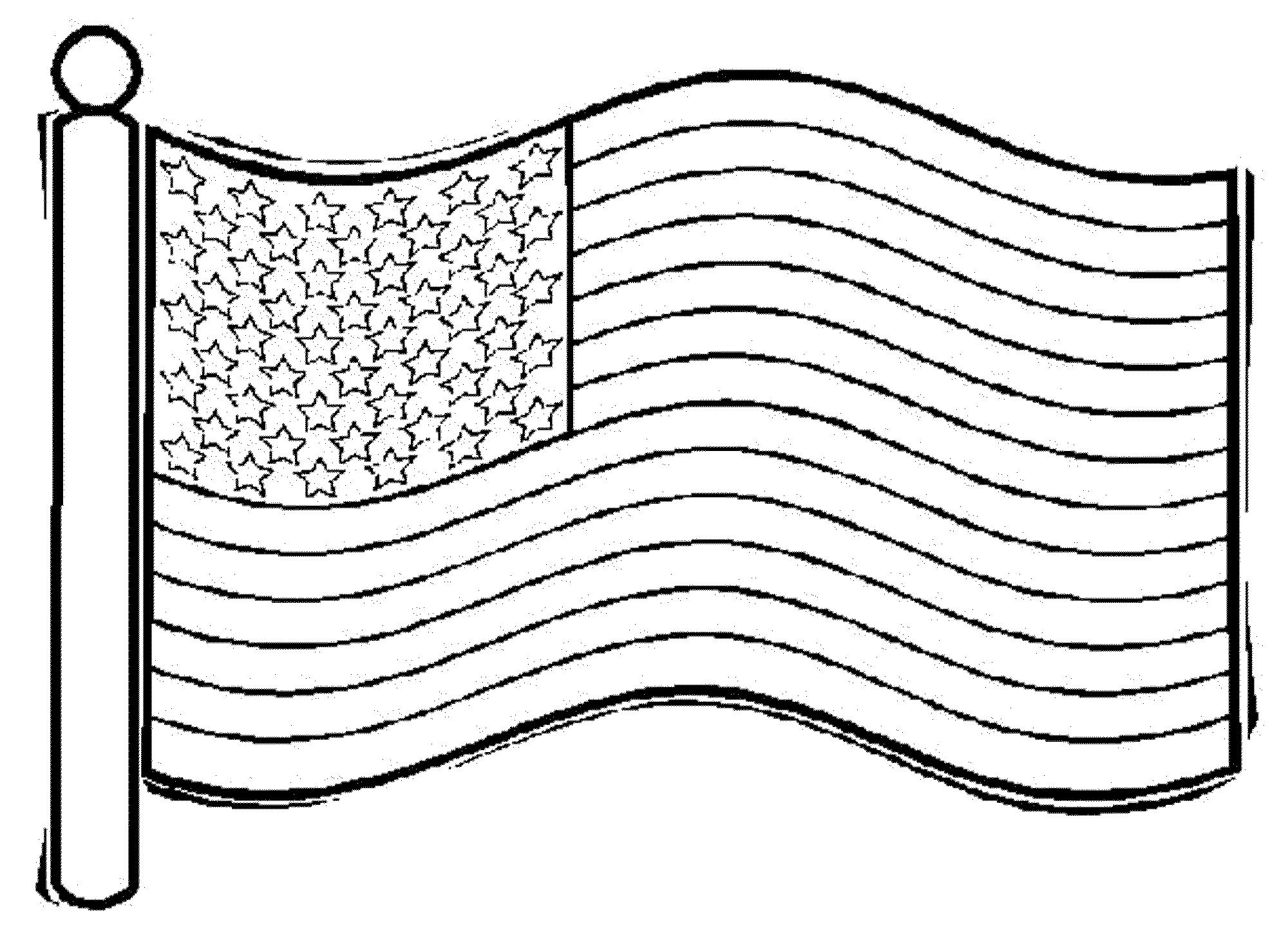 colouring pages us flag american flag waving for independence day coloring pages us colouring flag pages