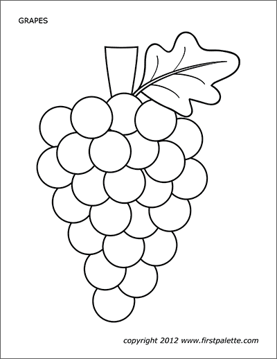 colouring pictures of grapes grapes coloring page coloring home pictures colouring of grapes