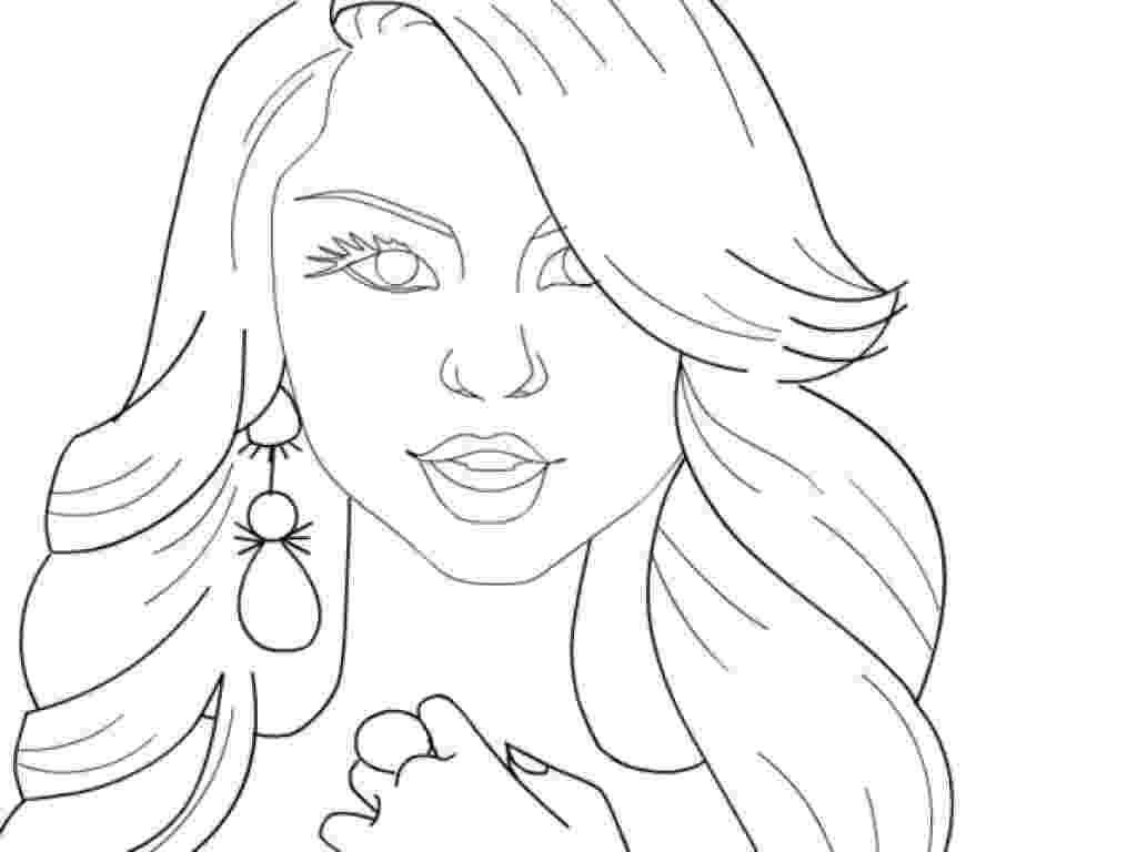 colouring pictures of people fashion girl coisas para desenhar lindos desenhos a colouring people of pictures
