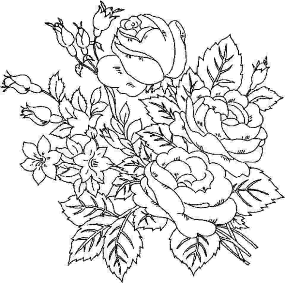 colouring pictures of roses coloring ville pictures colouring of roses