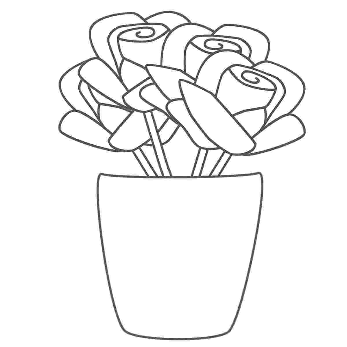 colouring pictures of roses roses coloring pages getcoloringpagescom of pictures roses colouring