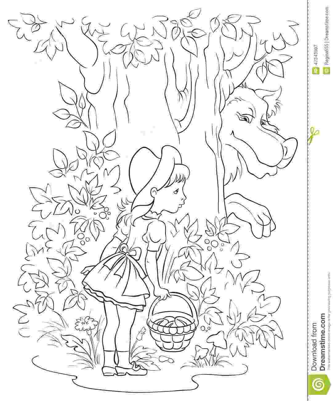 colouring sheet little red riding hood top 10 free printable little red riding hood coloring sheet red little hood colouring riding