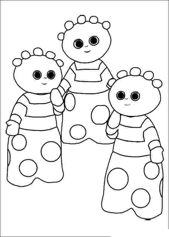colouring sheets in the night garden get coloring pages free coloring pages for kids and adults in sheets colouring the night garden