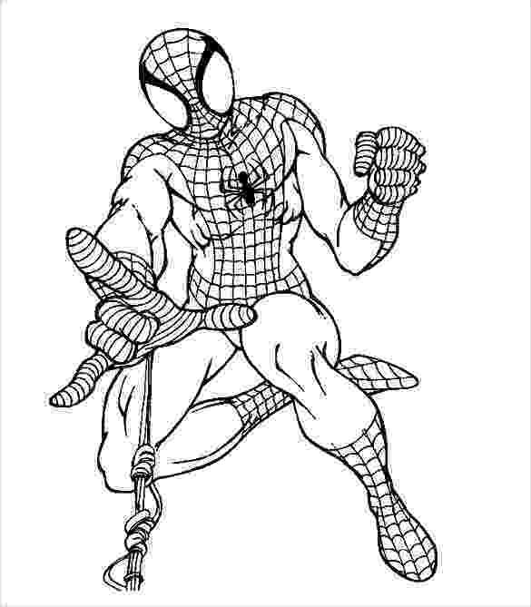 colouring templates spiderman 30 spiderman colouring pages printable colouring pages colouring spiderman templates 1 1