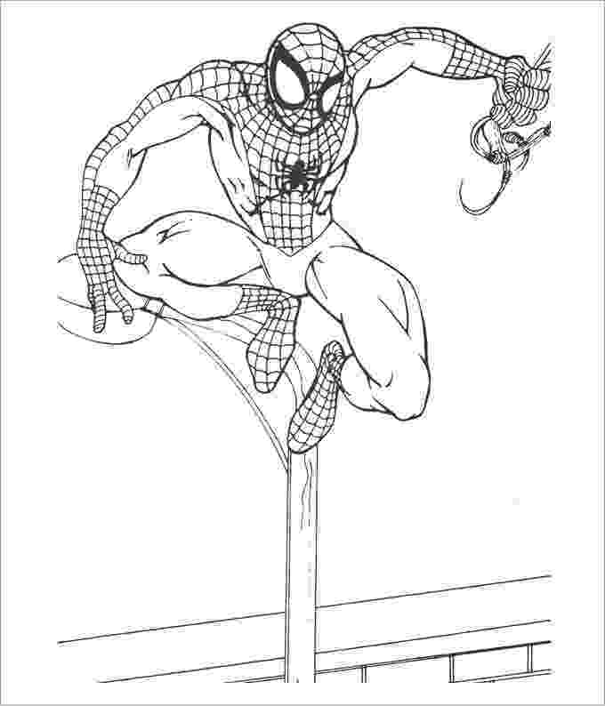 colouring templates spiderman coloring pictures of spiderman coloring pages colouring templates spiderman