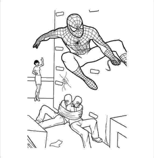 colouring templates spiderman superhero coloring pages coloring pages free premium spiderman colouring templates