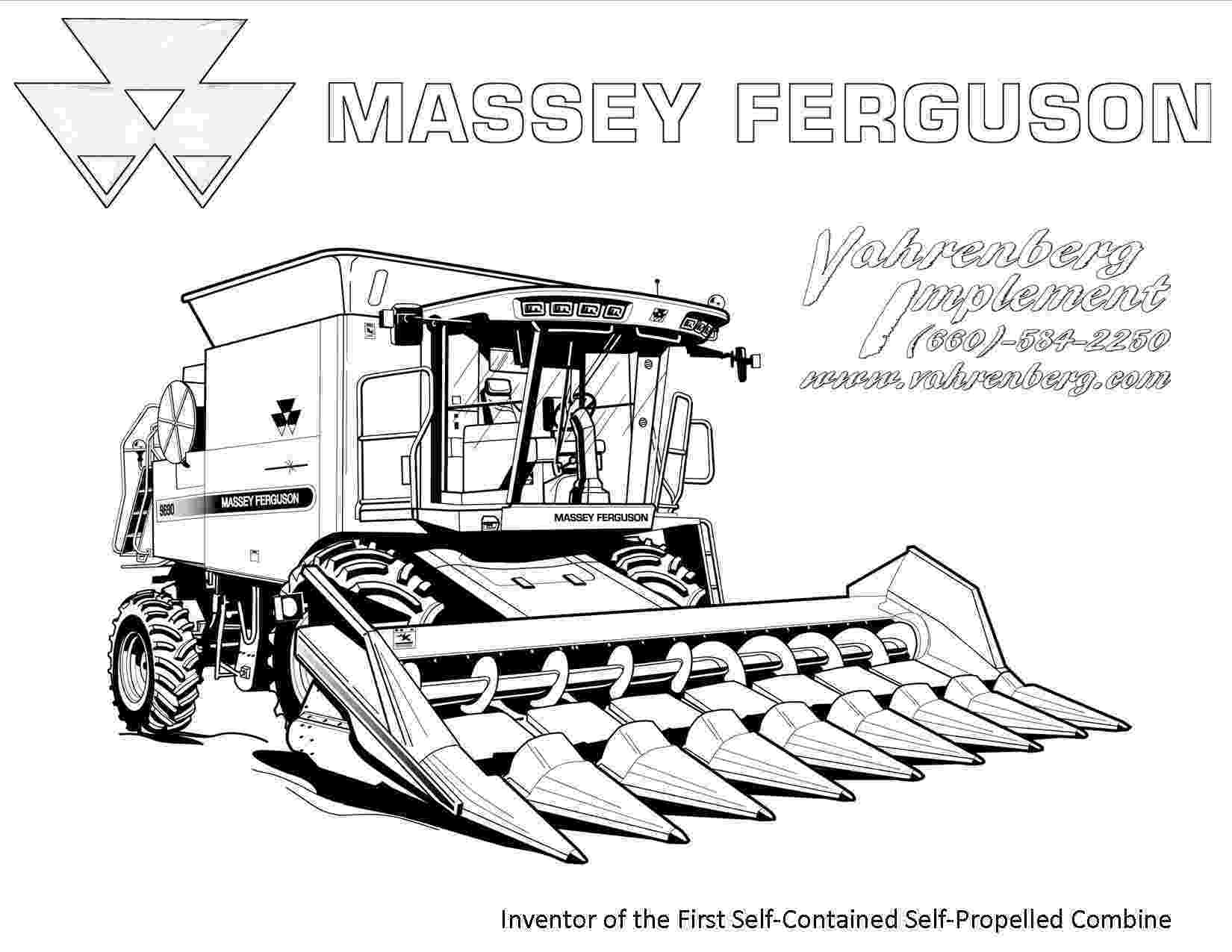 combine coloring pages rugged tractor coloring pages yescoloring free combine coloring pages