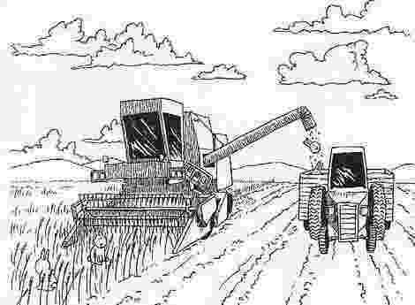 combine harvester colouring pages combine harvester coloring page coloring pages harvester combine colouring pages