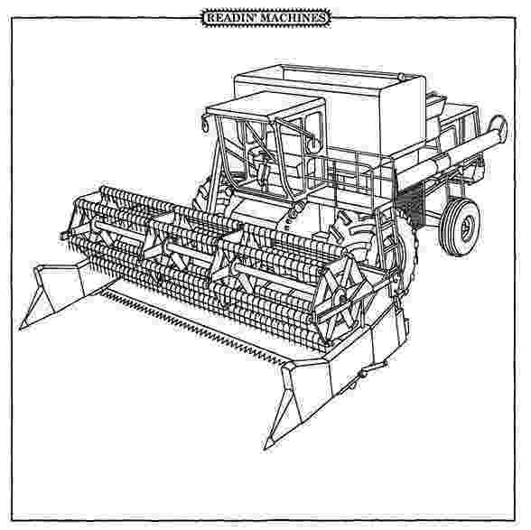combine harvester colouring pages combine harvester coloring pages farm machinery coloring combine colouring pages harvester