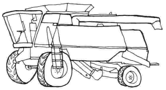 combine harvester colouring pages combine harvester line drawing in 2019 tractor coloring combine pages harvester colouring