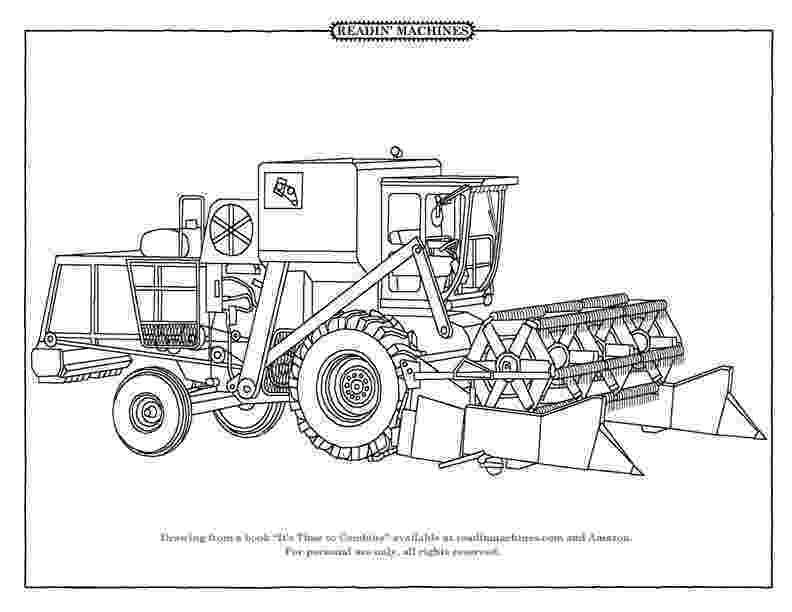 combine harvester colouring pages readin39 machines coloring pages www pages colouring combine harvester