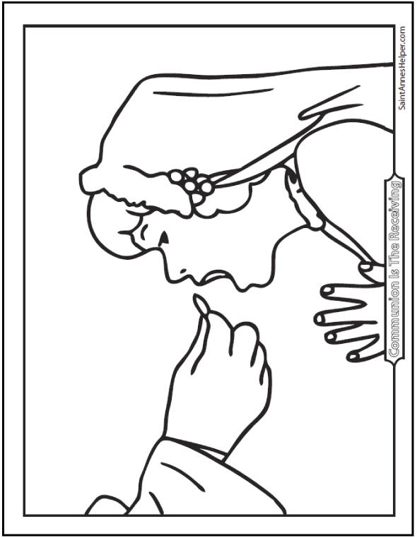 communion coloring pages sacrament holy communion eucharist coloring page pages communion coloring