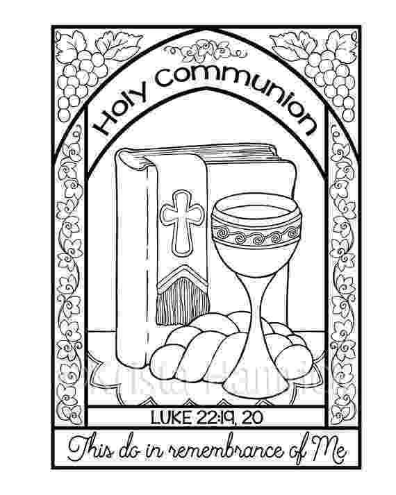 communion coloring pages sacraments coloring pages communion coloring pages