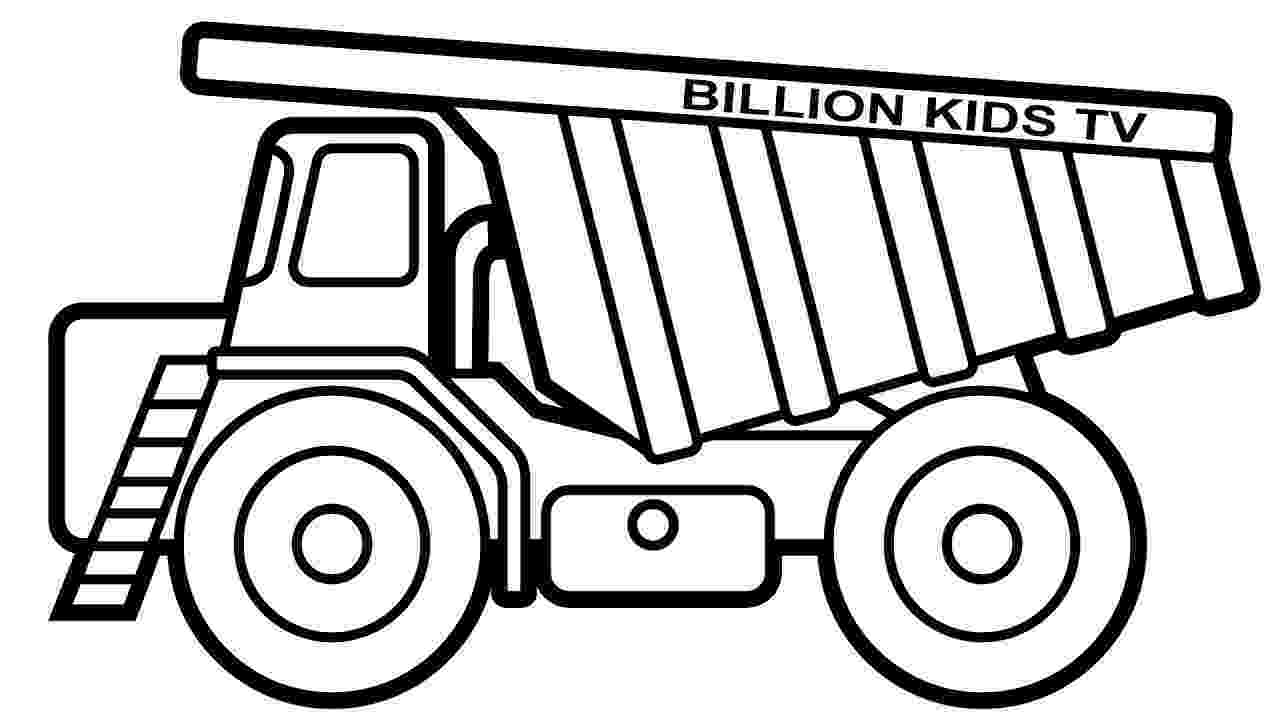 construction trucks coloring pages construction truck coloring pages at getcoloringscom construction pages coloring trucks