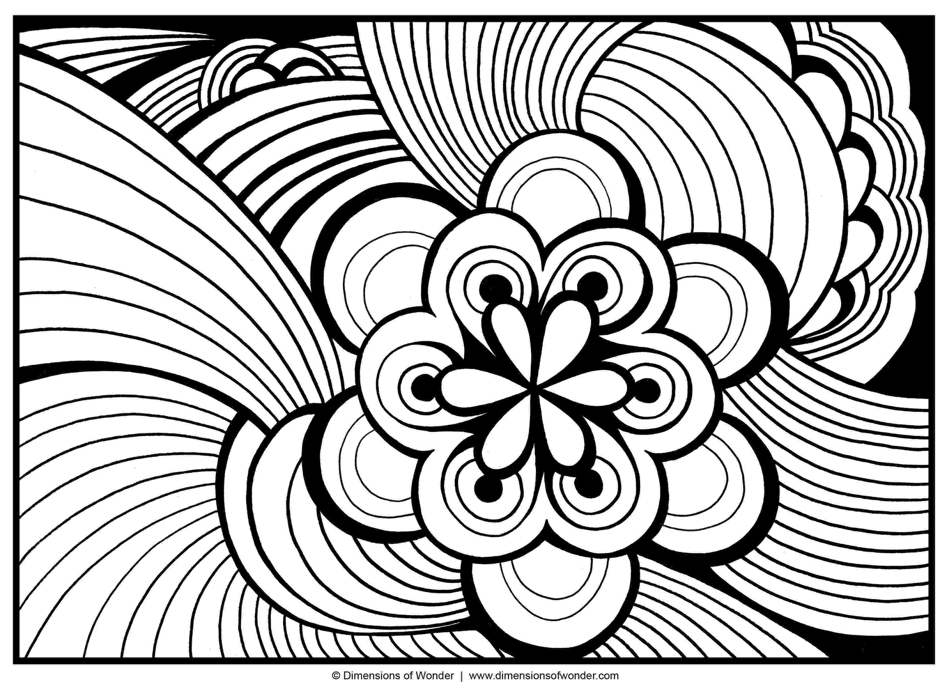 cool abstract coloring pages abstract coloring pages free large images abstract cool coloring pages abstract