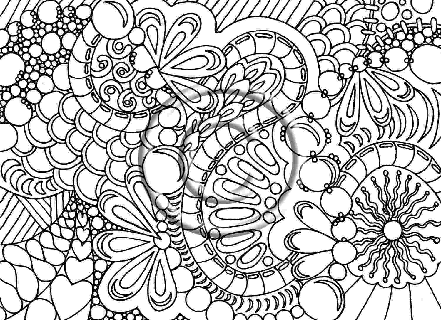 cool abstract coloring pages abstract drawing for kids at getdrawingscom free for cool pages coloring abstract