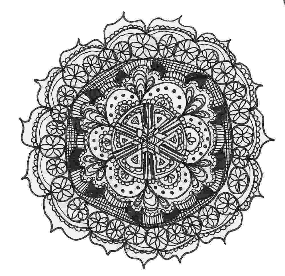 cool mandalas drawings lauren kussro cool mandalas