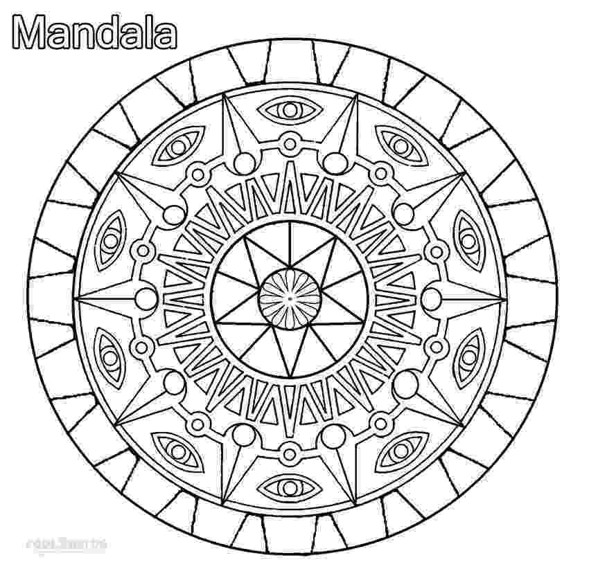 cool mandalas printable mandala coloring pages for kids cool2bkids mandalas cool