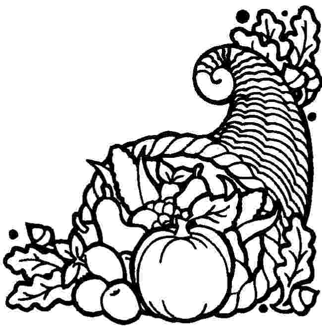 cornucopia coloring pages a little brit of us happy thanksgiving cornucopia pages coloring
