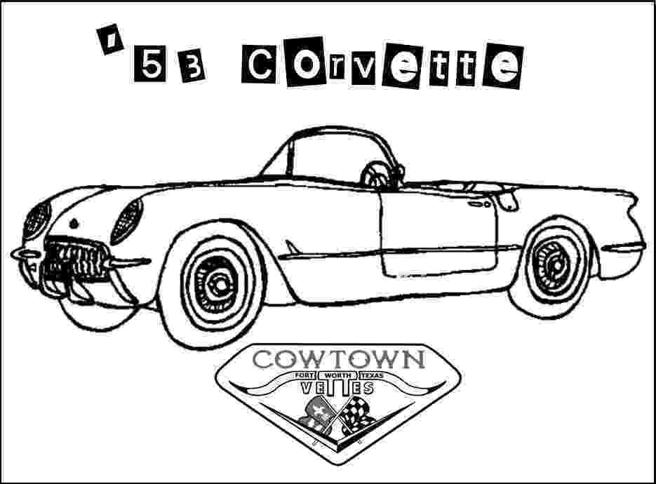 corvette coloring pages corvette classic coloring page coloring pages corvette pages coloring