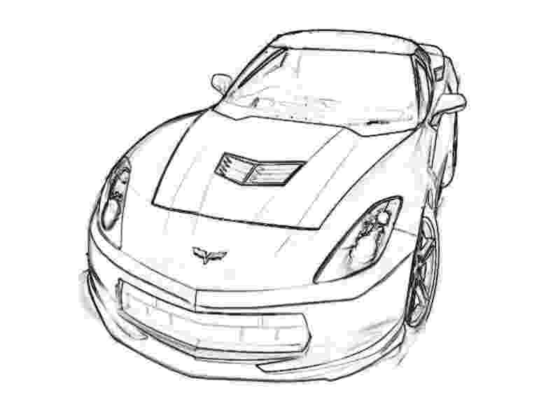 corvette coloring pages corvette coloring pages free printable corvette coloring pages coloring corvette