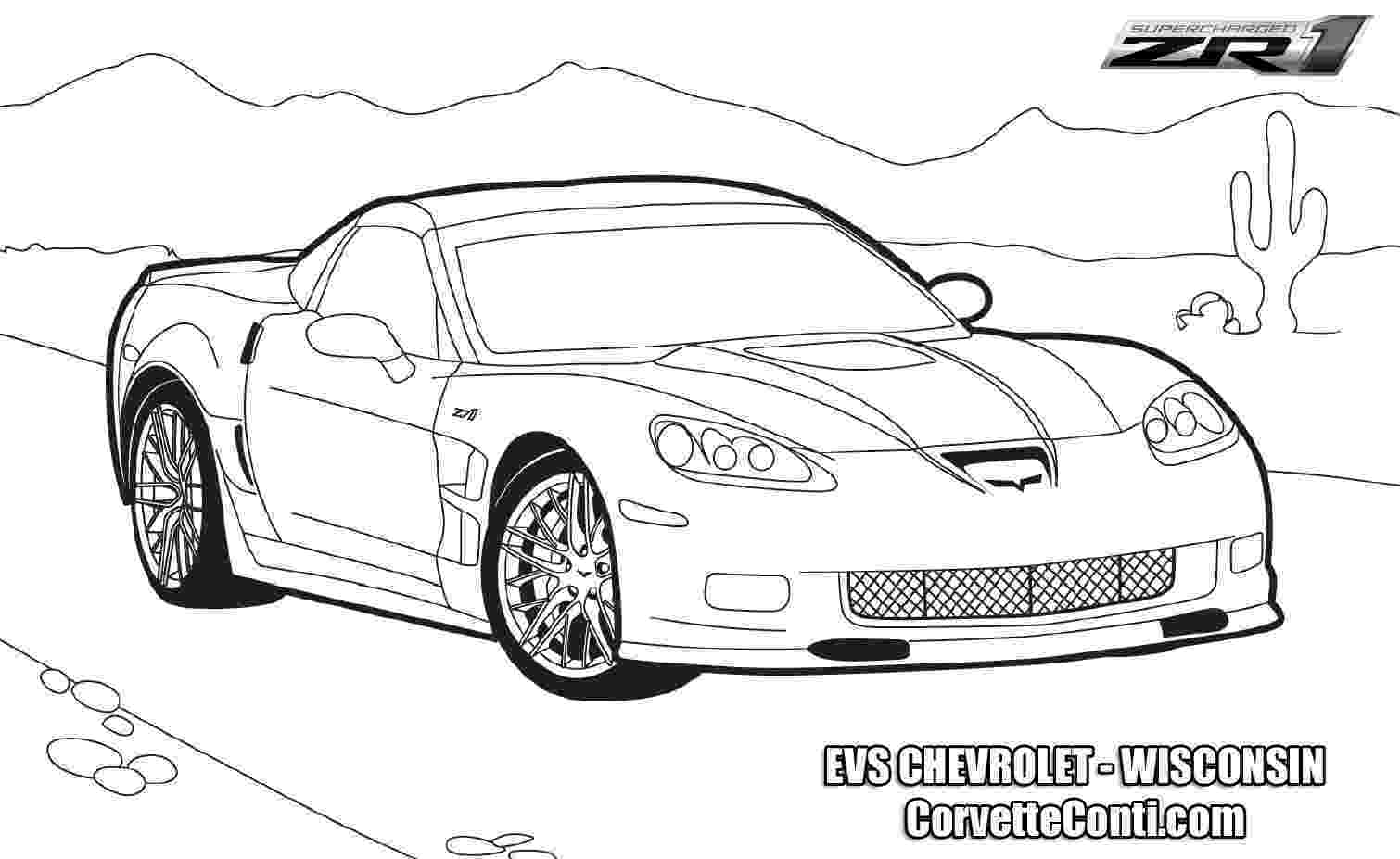 corvette coloring pages corvette coloring pages to download and print for free coloring corvette pages