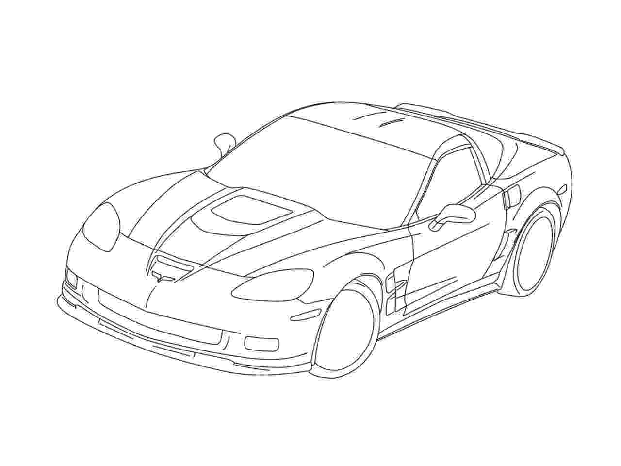 corvette coloring pages corvette coloring pages to download and print for free pages corvette coloring