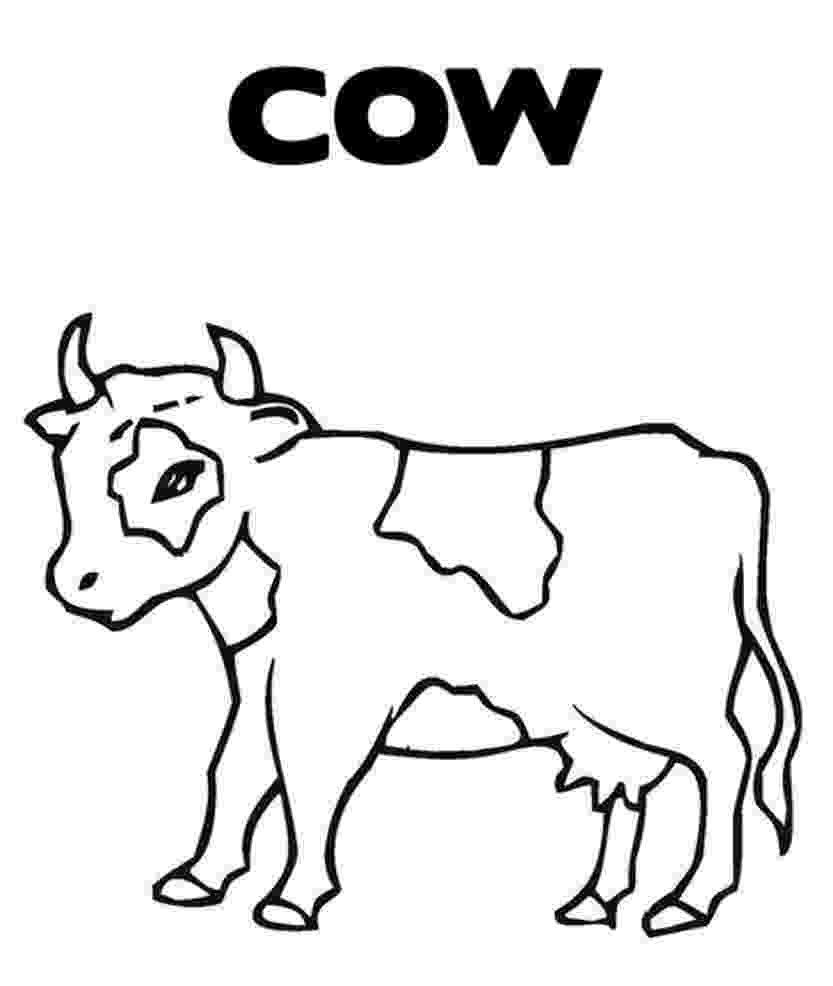 cow pictures to color c cow coloring pages coloring home color pictures cow to
