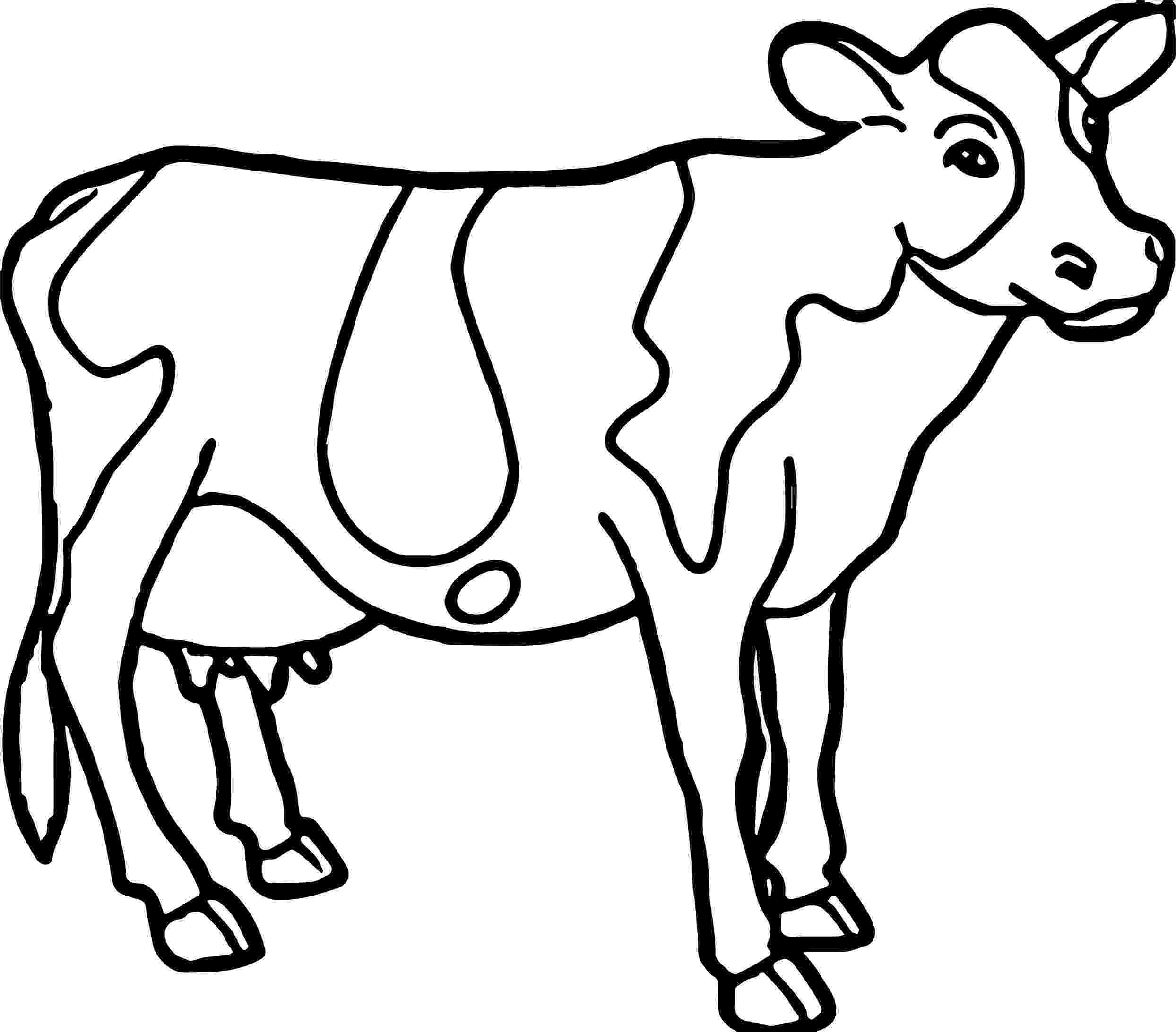 cow pictures to color cow face coloring pages at getcoloringscom free pictures to cow color