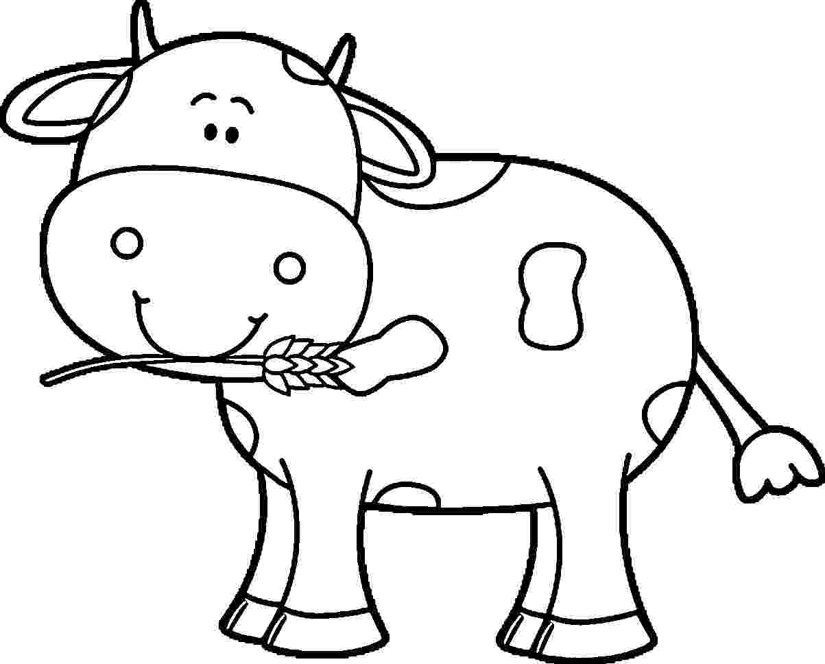 cow pictures to color free printable cow coloring pages for kids cool2bkids to cow pictures color
