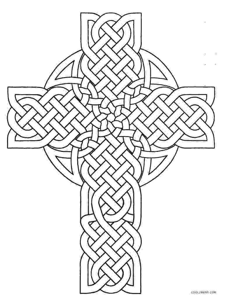 cross coloring page free printable cross coloring pages for kids cool2bkids cross coloring page 1 1