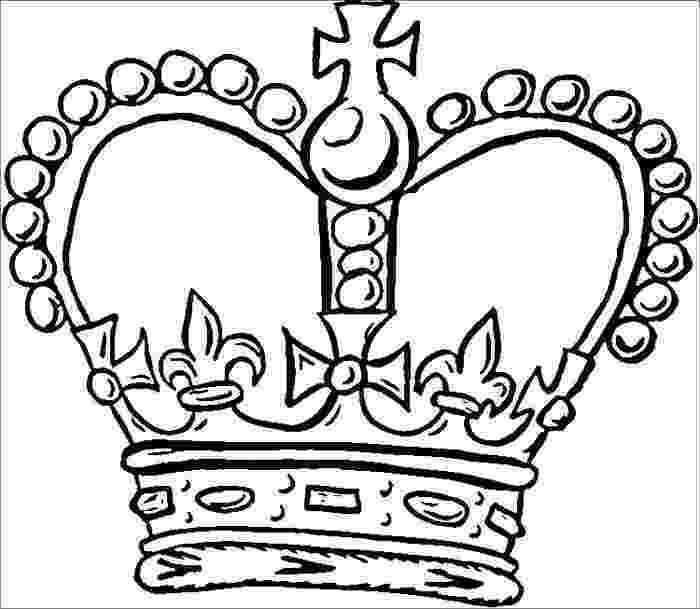 crown coloring page crown coloring pages to download and print for free coloring crown page