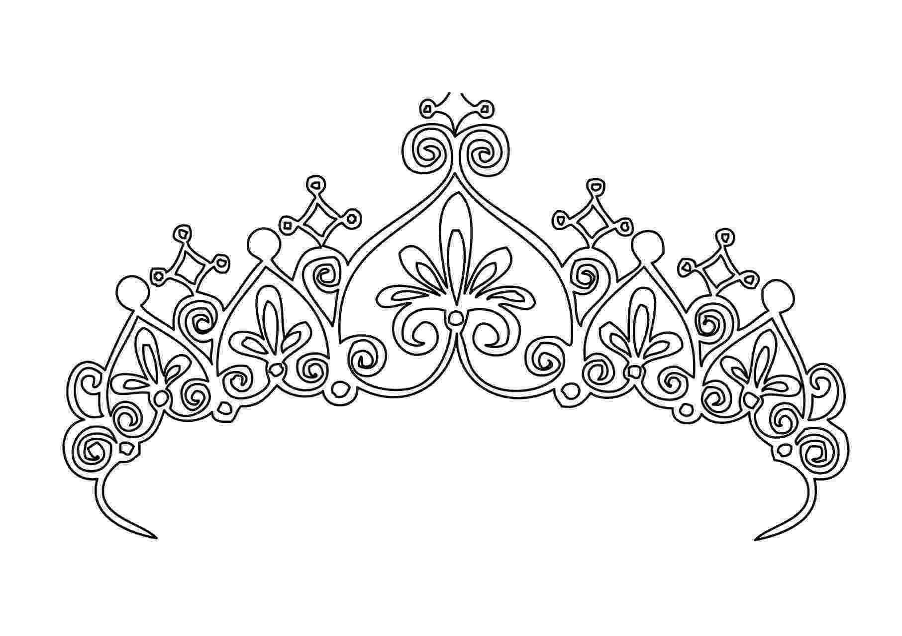 crown coloring page crown netart page coloring crown