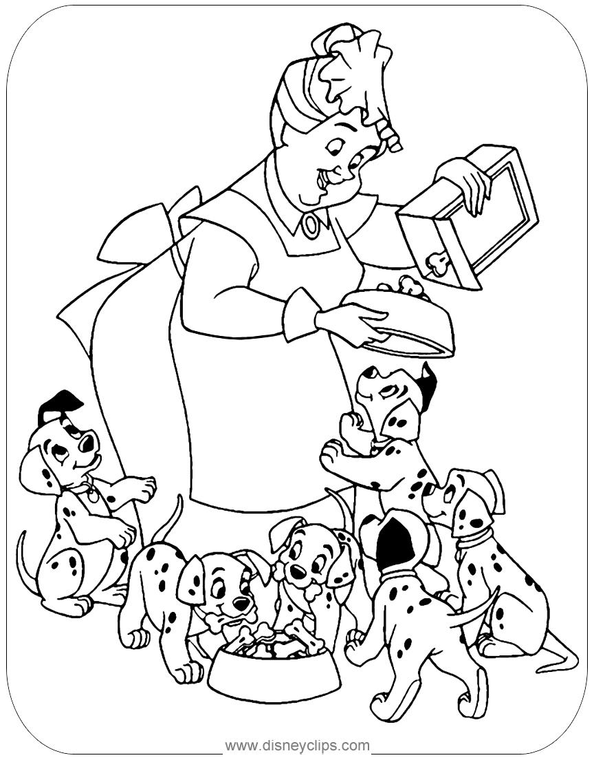 cruella deville coloring page 101 dalmatians coloring pages disneyclipscom coloring cruella deville page