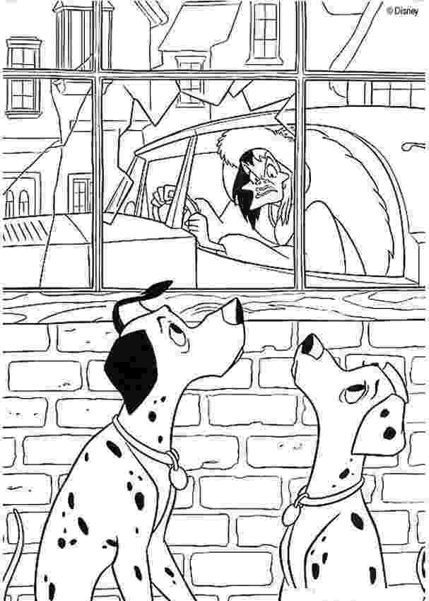 cruella deville coloring page image 101 dalmatians colouring pictures 1jpg disney page cruella coloring deville