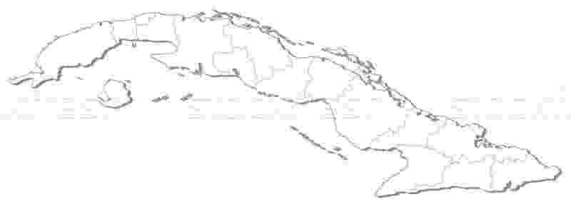 cuba coloring pages map of cuba vector illustration steffen hammer pages coloring cuba