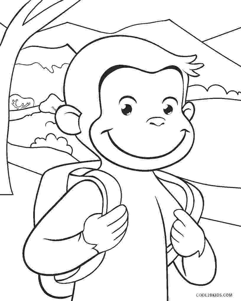 curious george coloring pages fun coloring pages curious george coloring pages george curious pages coloring