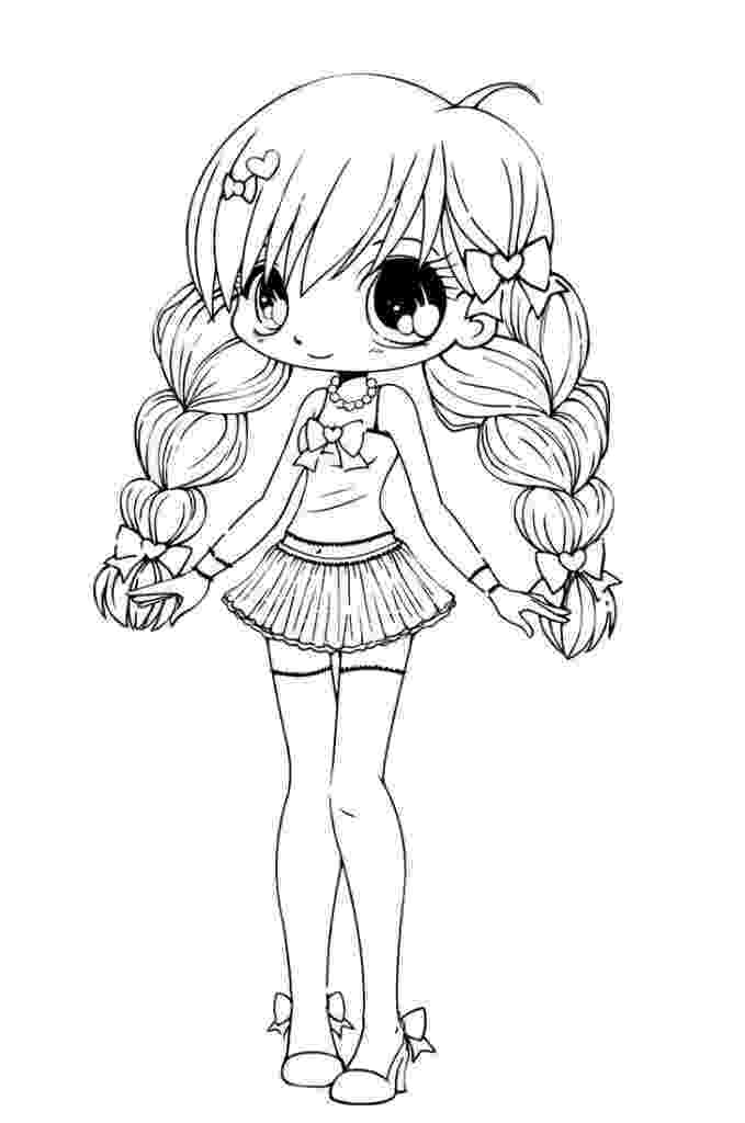 cute anime coloring pages to print chibi coloring pages to download and print for free cute anime coloring print pages to