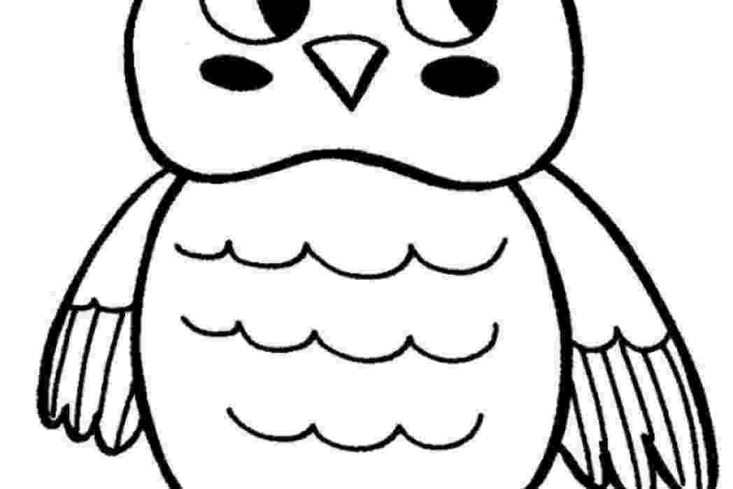 cute coloring pages of owls baby owl coloring pages getcoloringpagescom cute coloring owls of pages