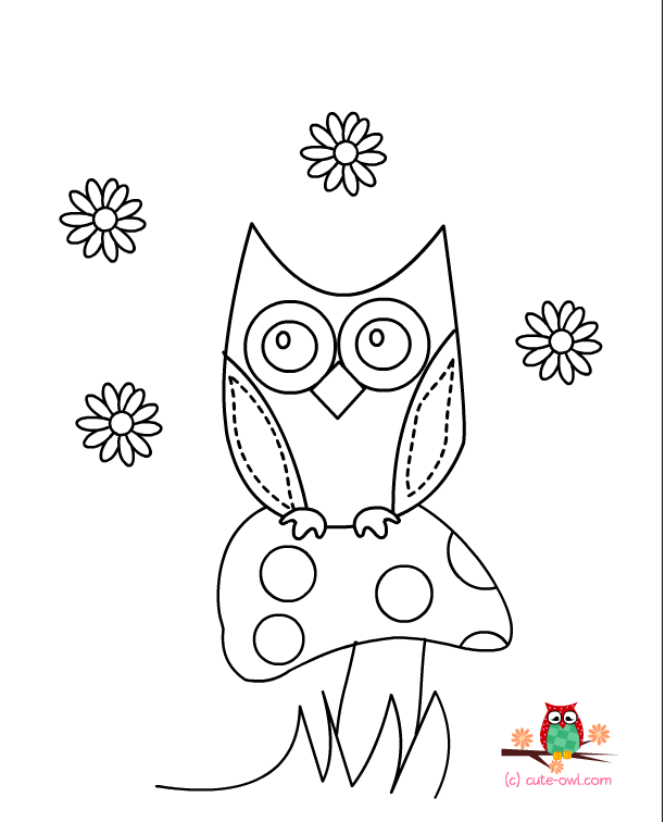 cute coloring pages of owls cute owl coloring page free printable coloring pages cute coloring owls of pages