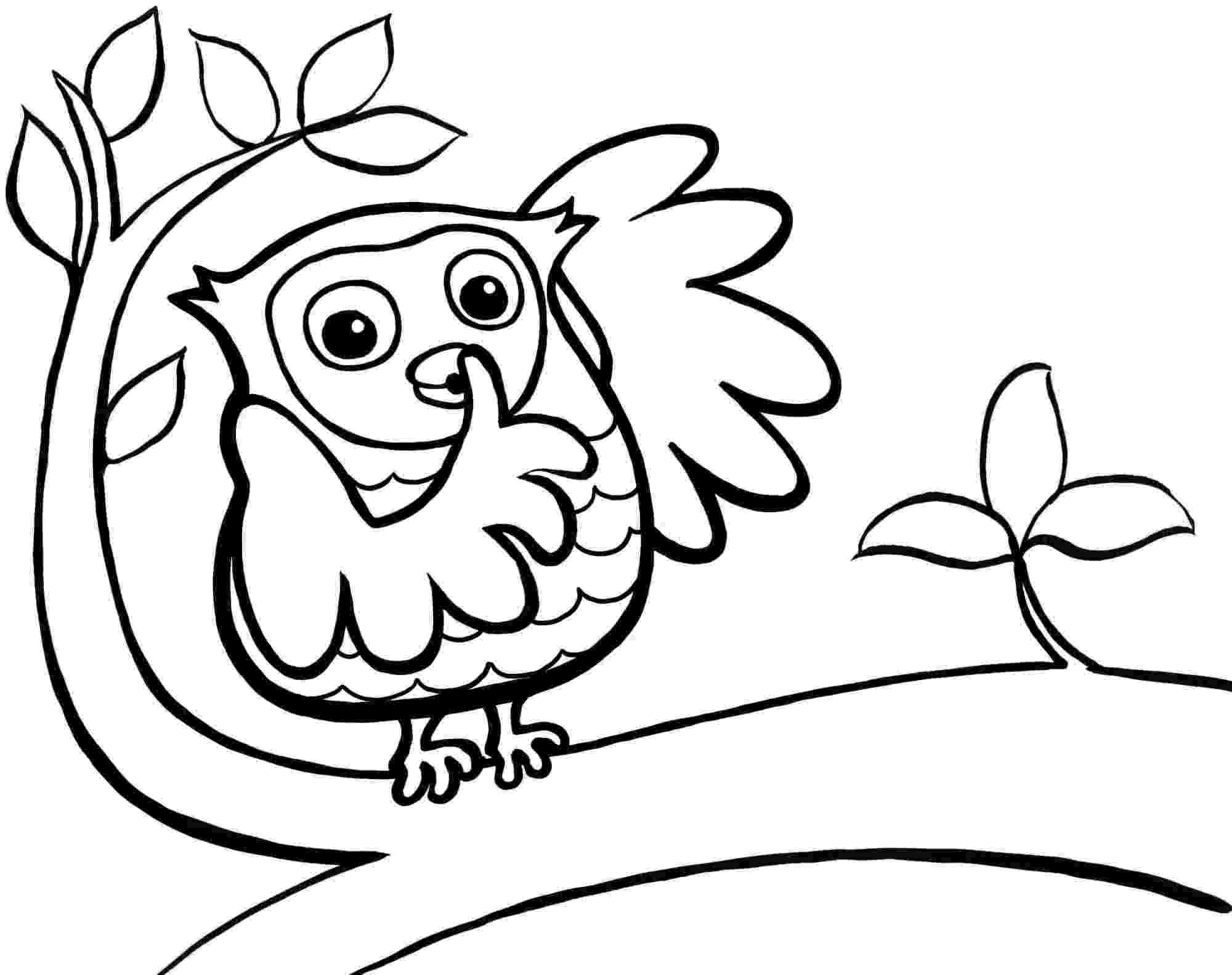 cute coloring pages of owls owl coloring pages for kids printable coloring pages 2 owls pages coloring cute of